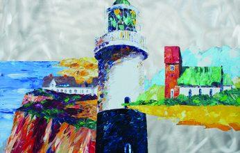 Peter-Linnenbrink_Sylt-Leuchtturm-Kampen-mit-Kliffende-und-Keitumer-Kirche_Öl-auf-Aluminium_100x120-346x220.jpg