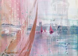 Ute-Hillenbrand-ALSTERSEGLER-cm-100-x-100-Acrylmalerei-Collage-auf-Leinwand-260x188.jpg